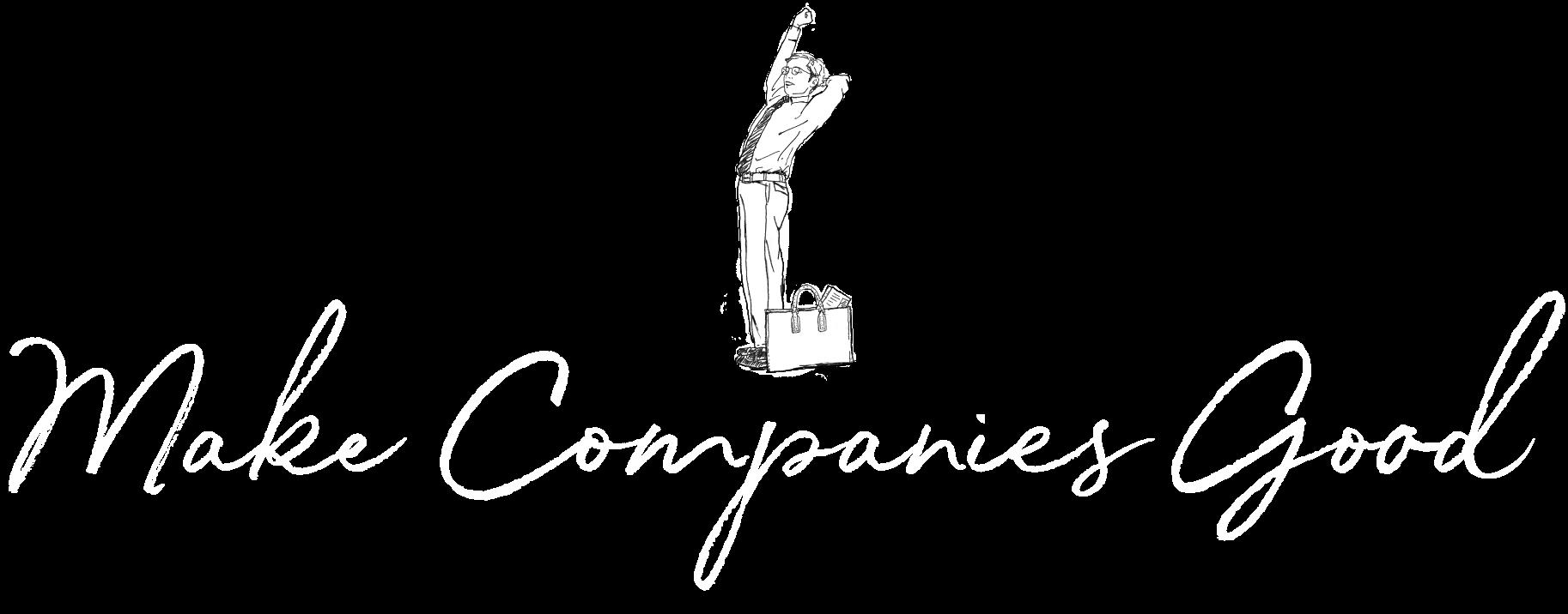 Make companies good